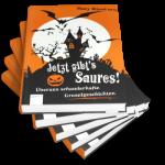 """Cover der Kurzgeschichtensammlung """"Jetzt gibt's Saures"""""""